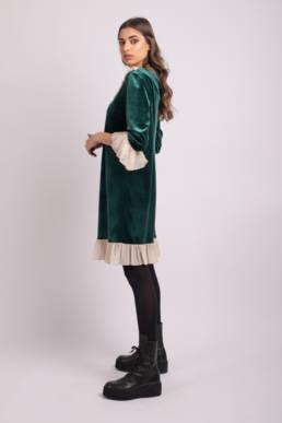 rochie jolie verde