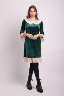 rochie verde jolie uai