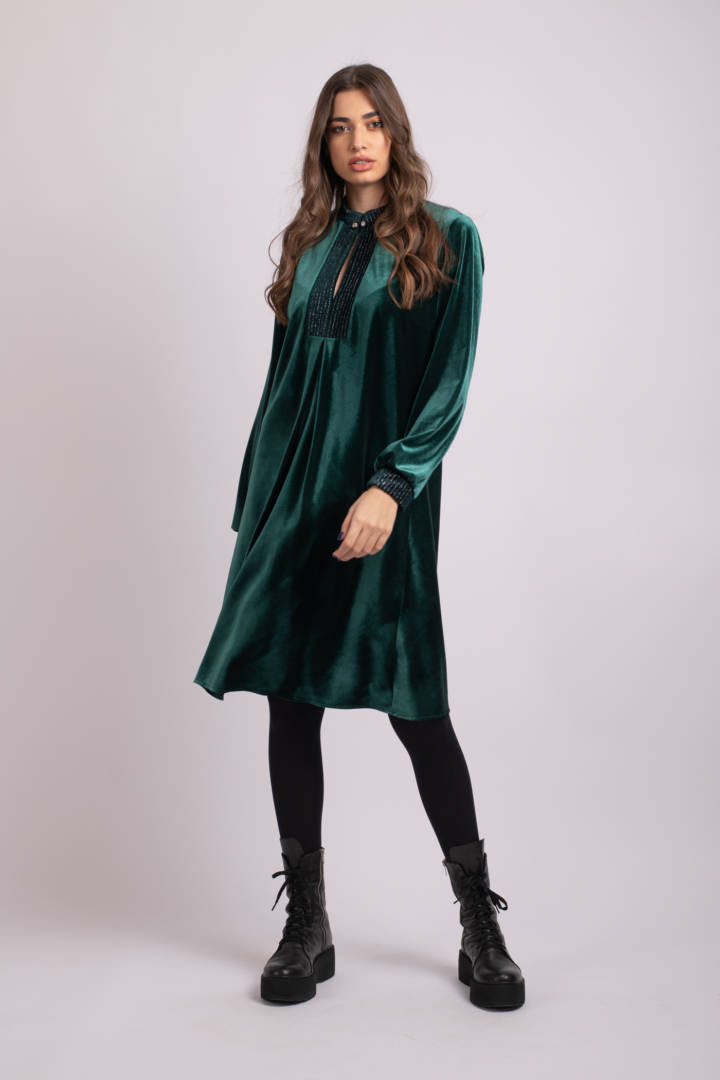 rochie verde natasha