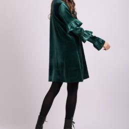rochie verde noelle 1