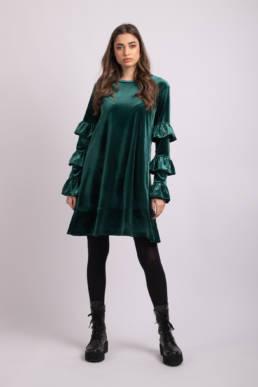 rochie verde noelle uai