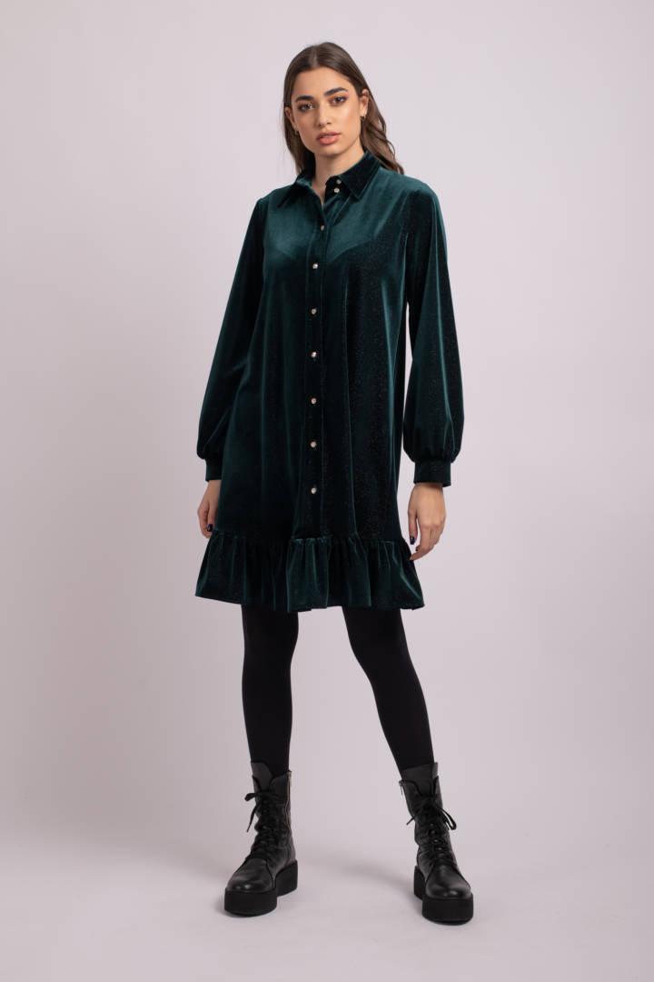 rochie verde sasha uai