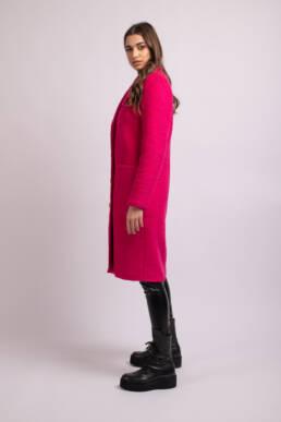 palton roz la donna