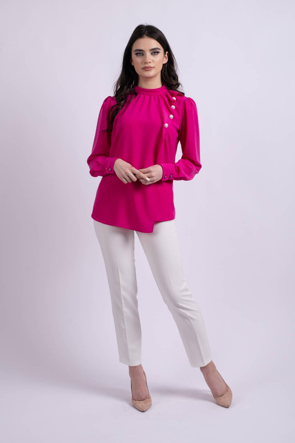 camasa roz perle uai