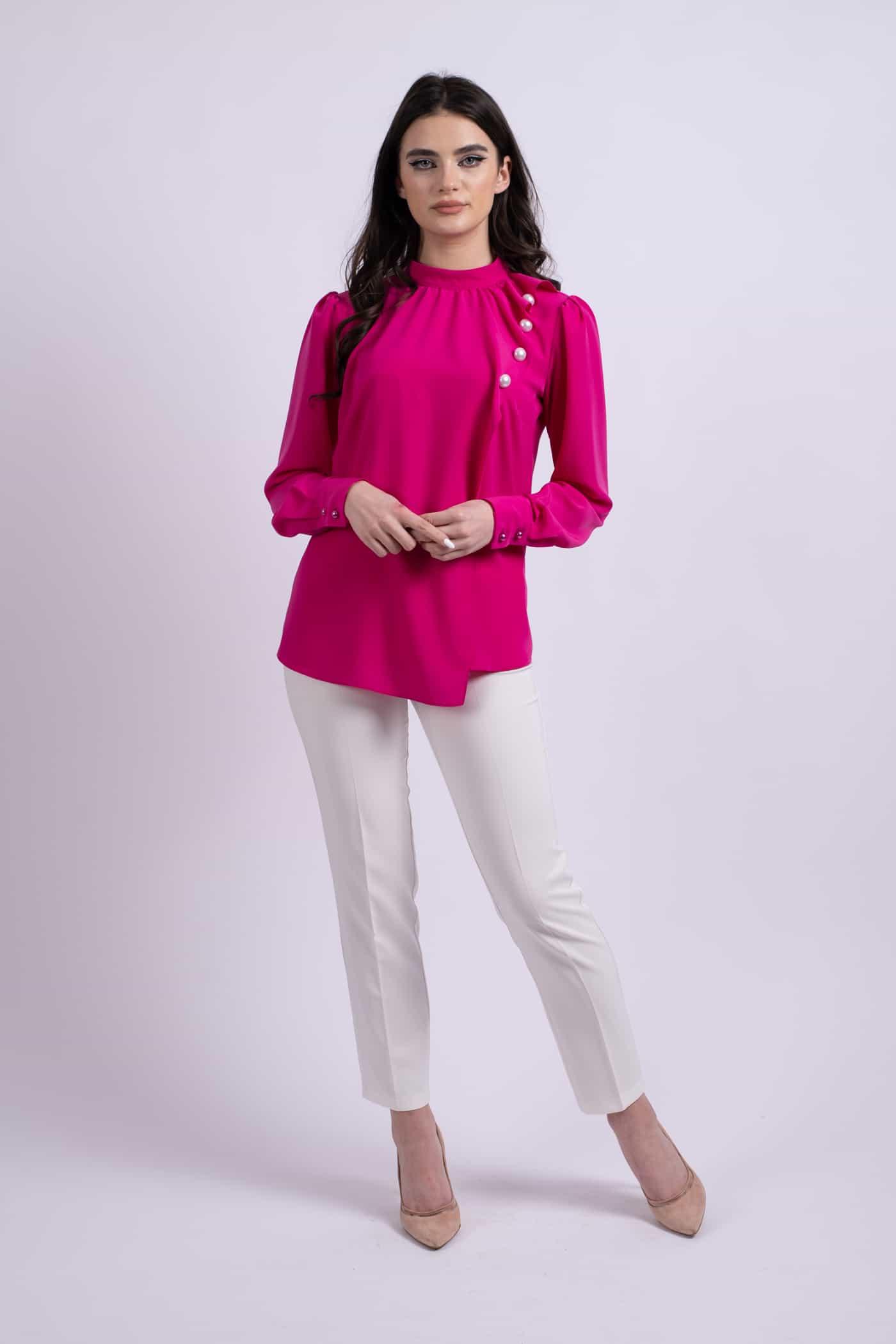 camasa roz perle