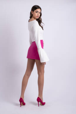 fusta mini roz