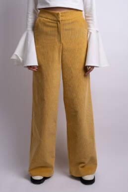 pantaloni evazati ladonna