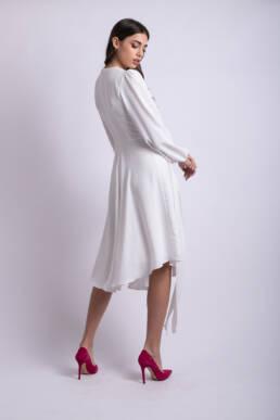 rochie alba mireasa 1
