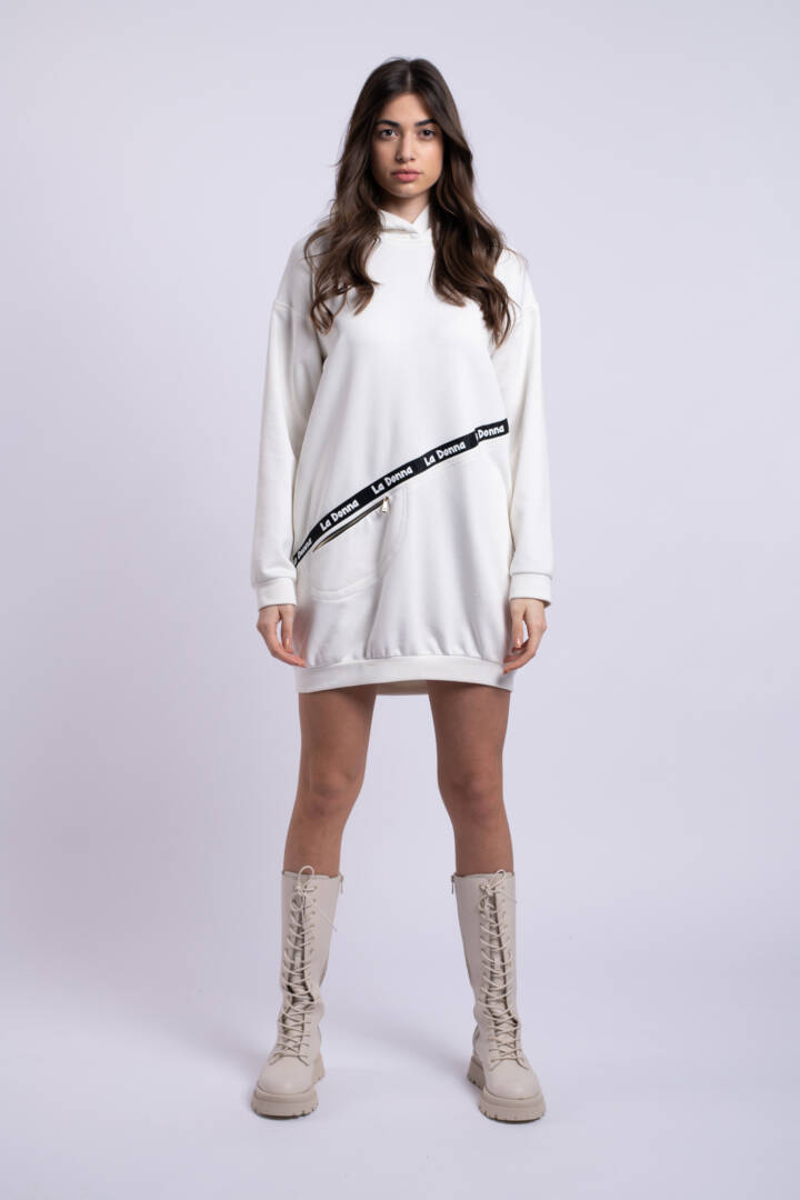 rochie alba sport uai