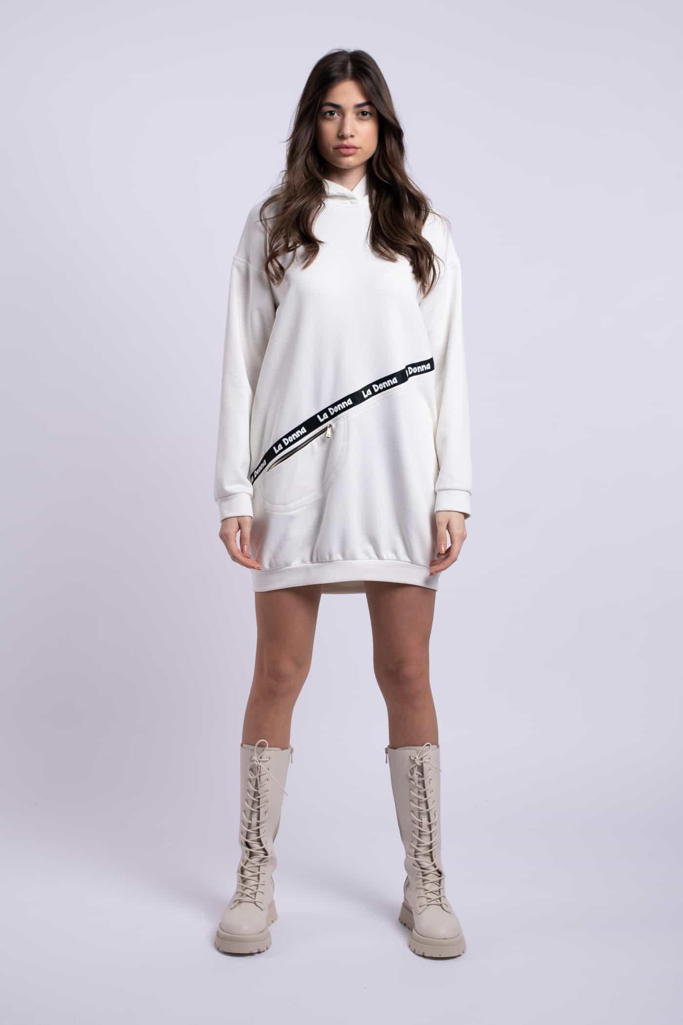 rochie alba sport