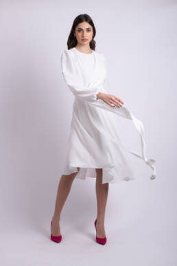 rochie alba uai
