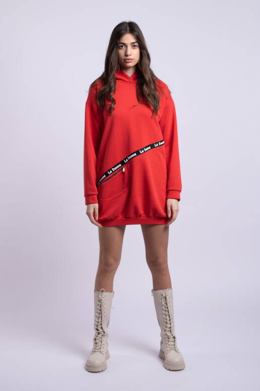 rochie cugluga rosie uai