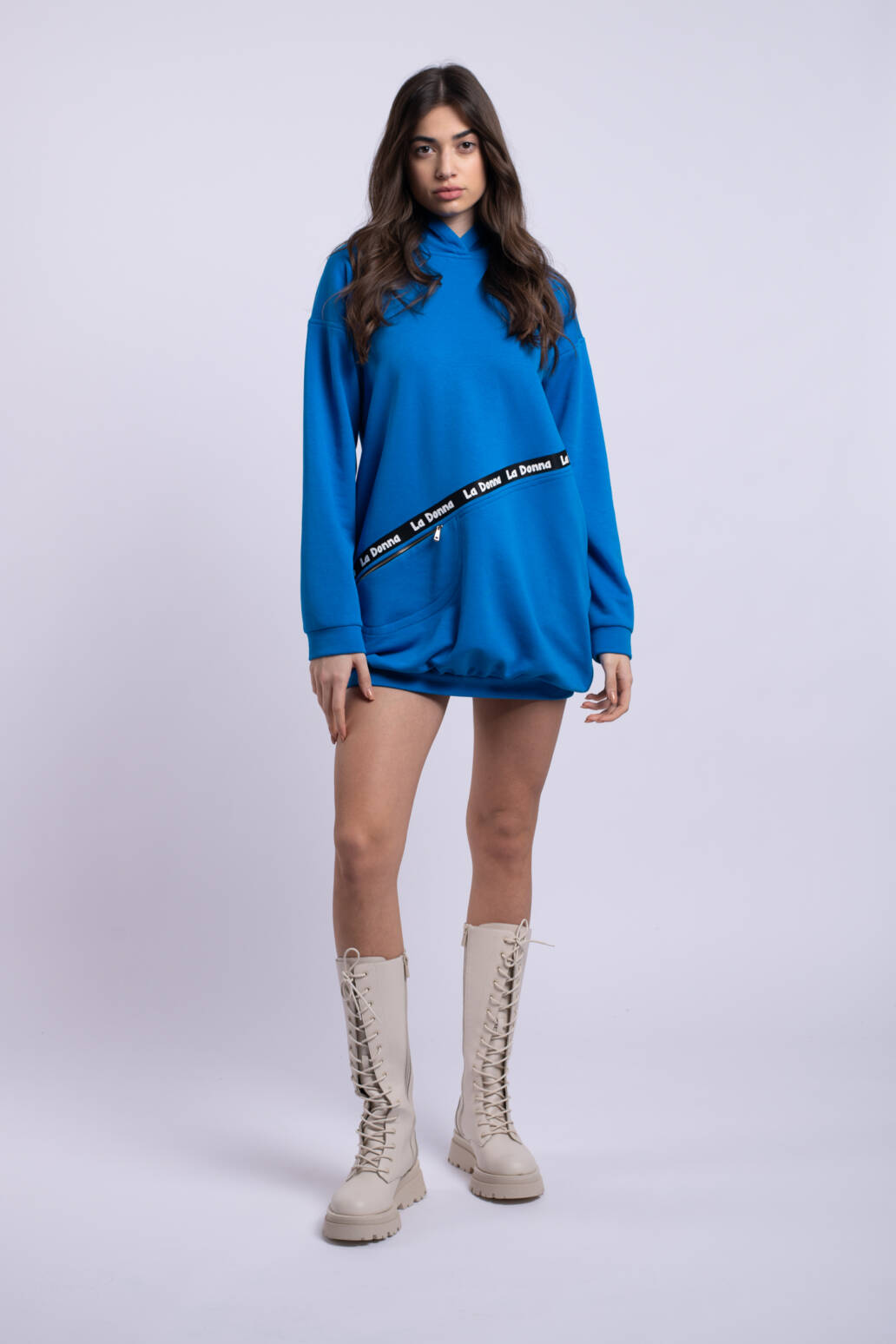 rochie ladonna albastruelectric uai
