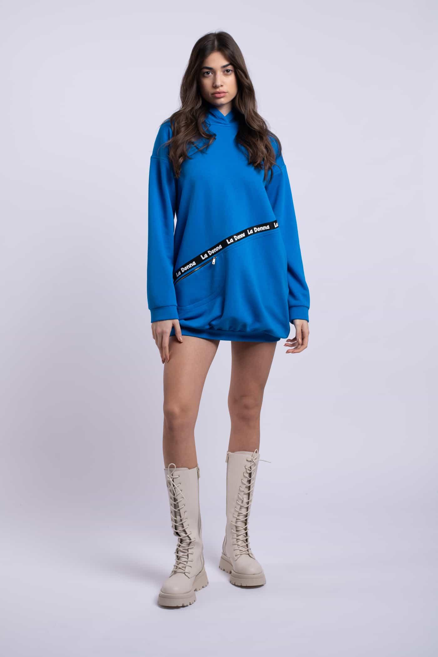 rochie ladonna albastruelectric