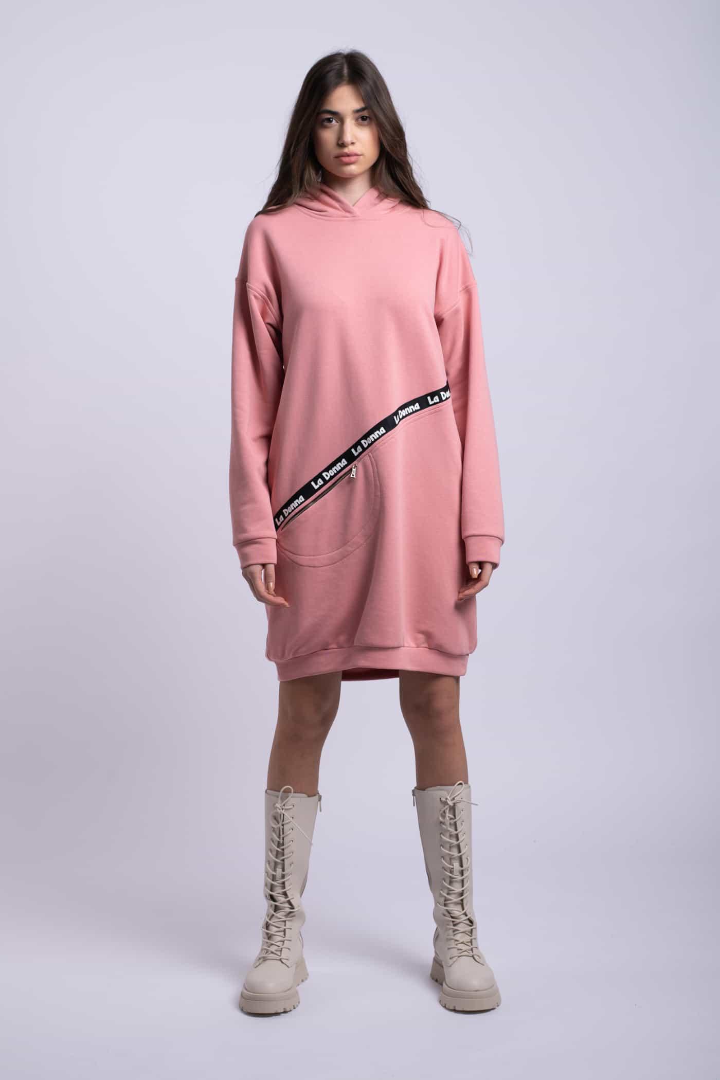 rochie sport ladonna roz