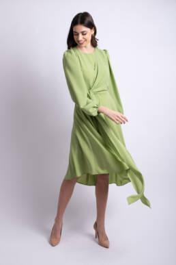 rochie verde fistic