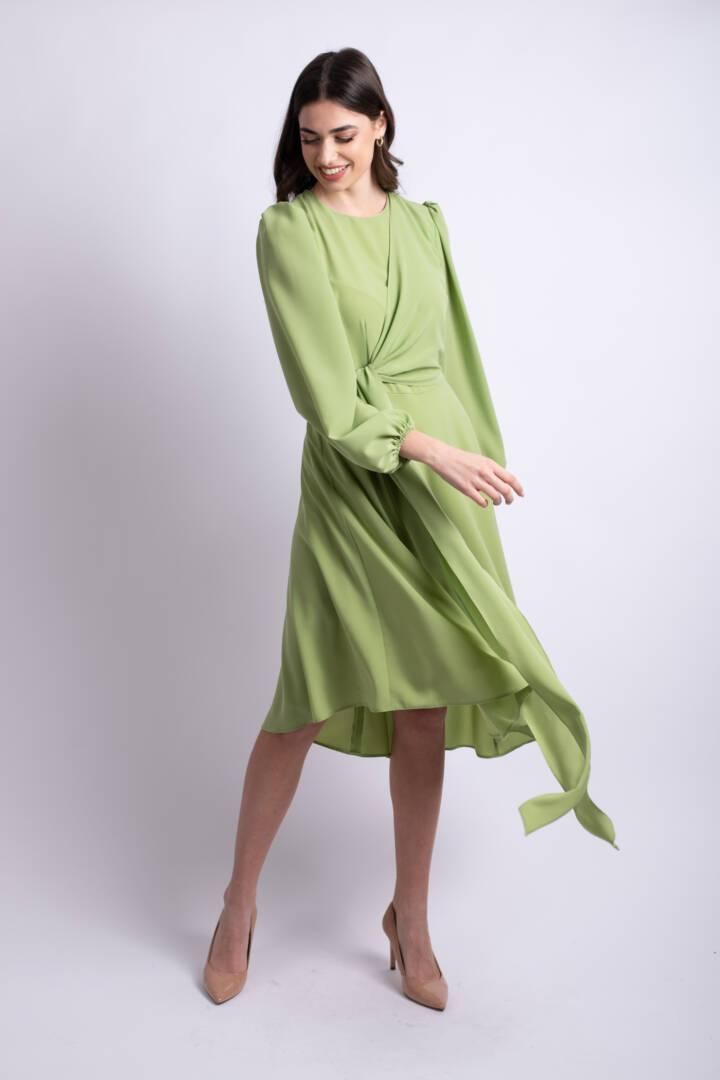 rochie verde fistic uai