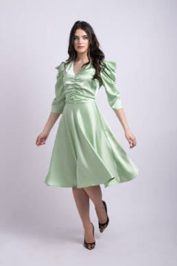 rochie verde ladonna uai