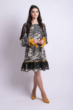 rochie zebra l donna uai