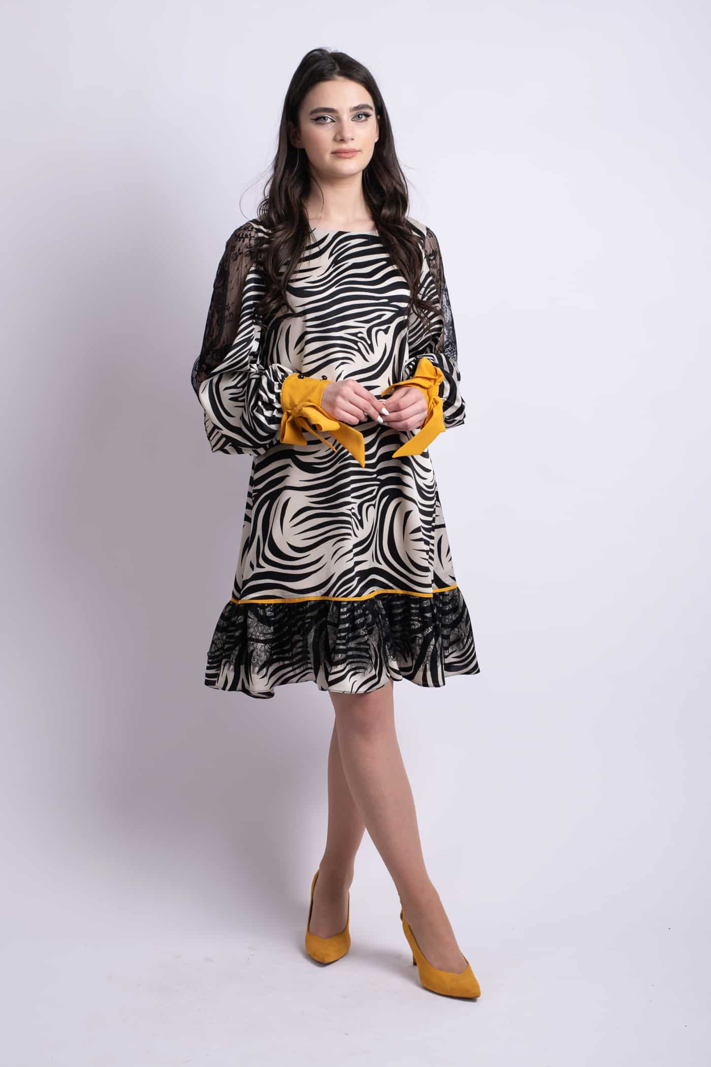 rochie zebra l donna