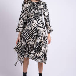 rochie zebra