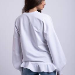 bluza alba dolce dantela chantilly
