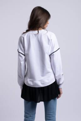 bluza alba giocosa ladonna