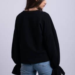 bluza emozia neagra la donna