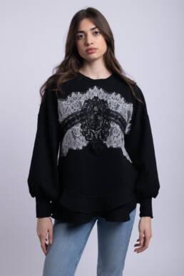 bluza neagra dolce uai