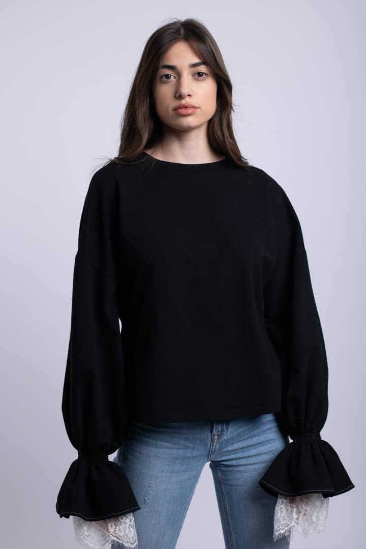 bluza neagra emozia uai