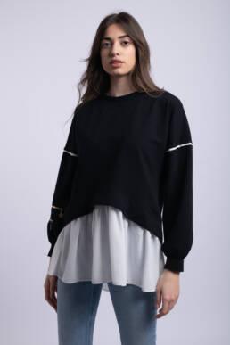 bluza neagra giocosa ladonna