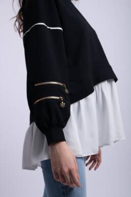 bluza neagra giocosa