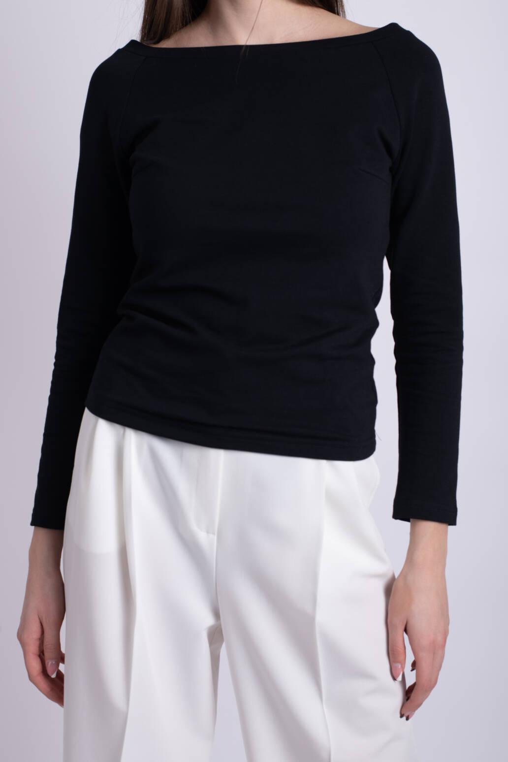 bluza neagra ladonna simpla