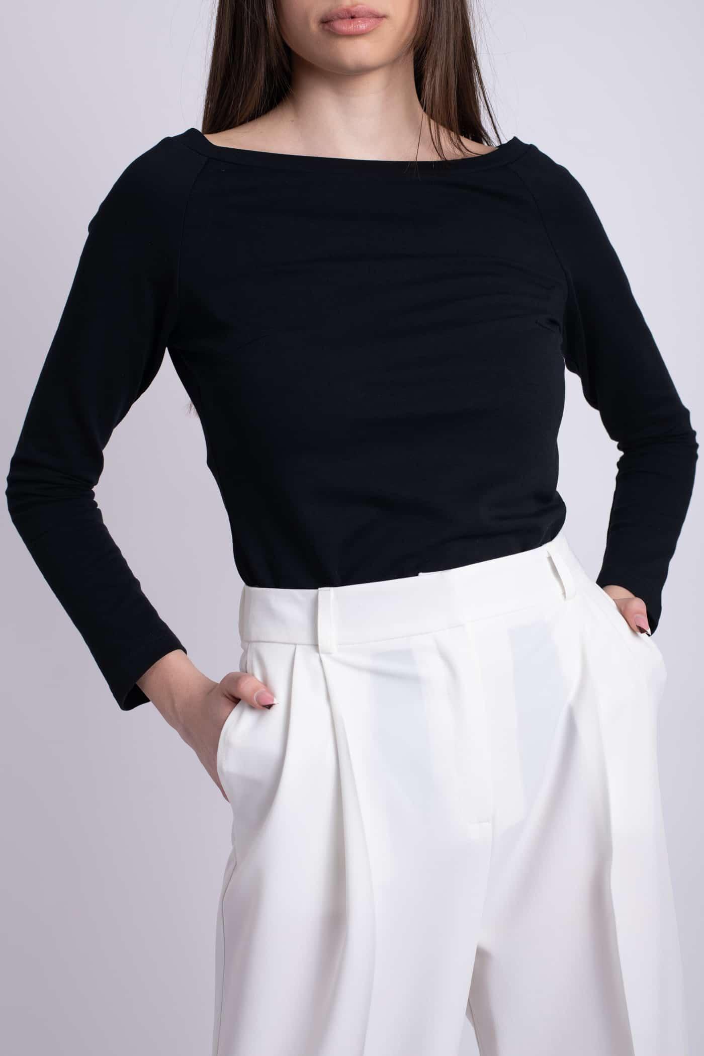 bluza neagra ladonna