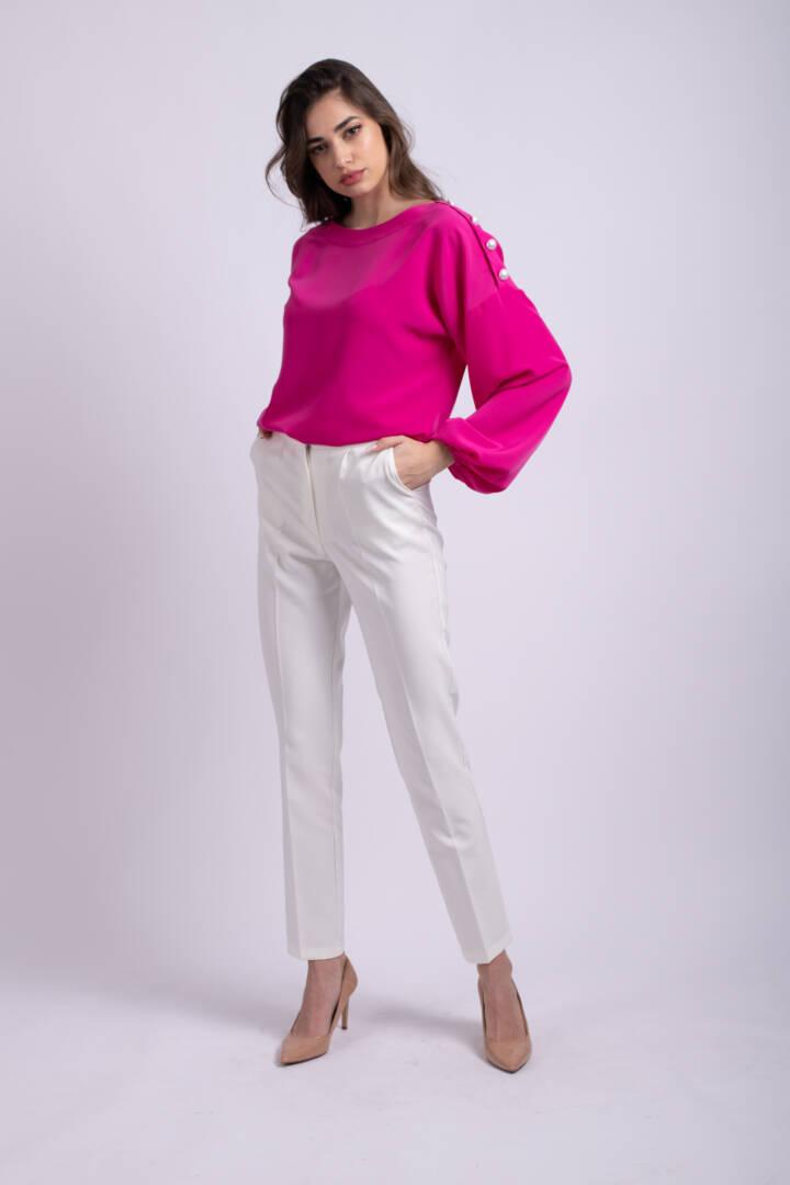 pantaloni albi office uai