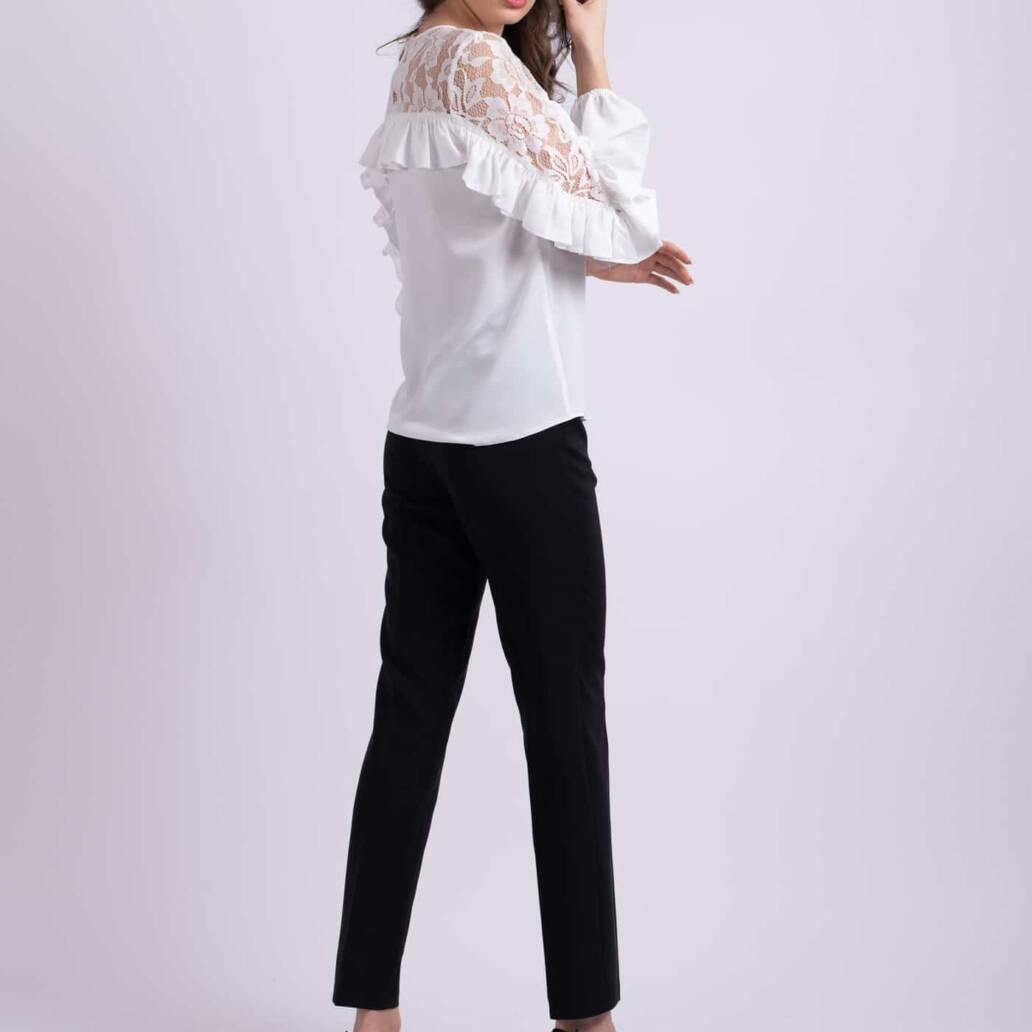 pantaloni conici negri ladonna