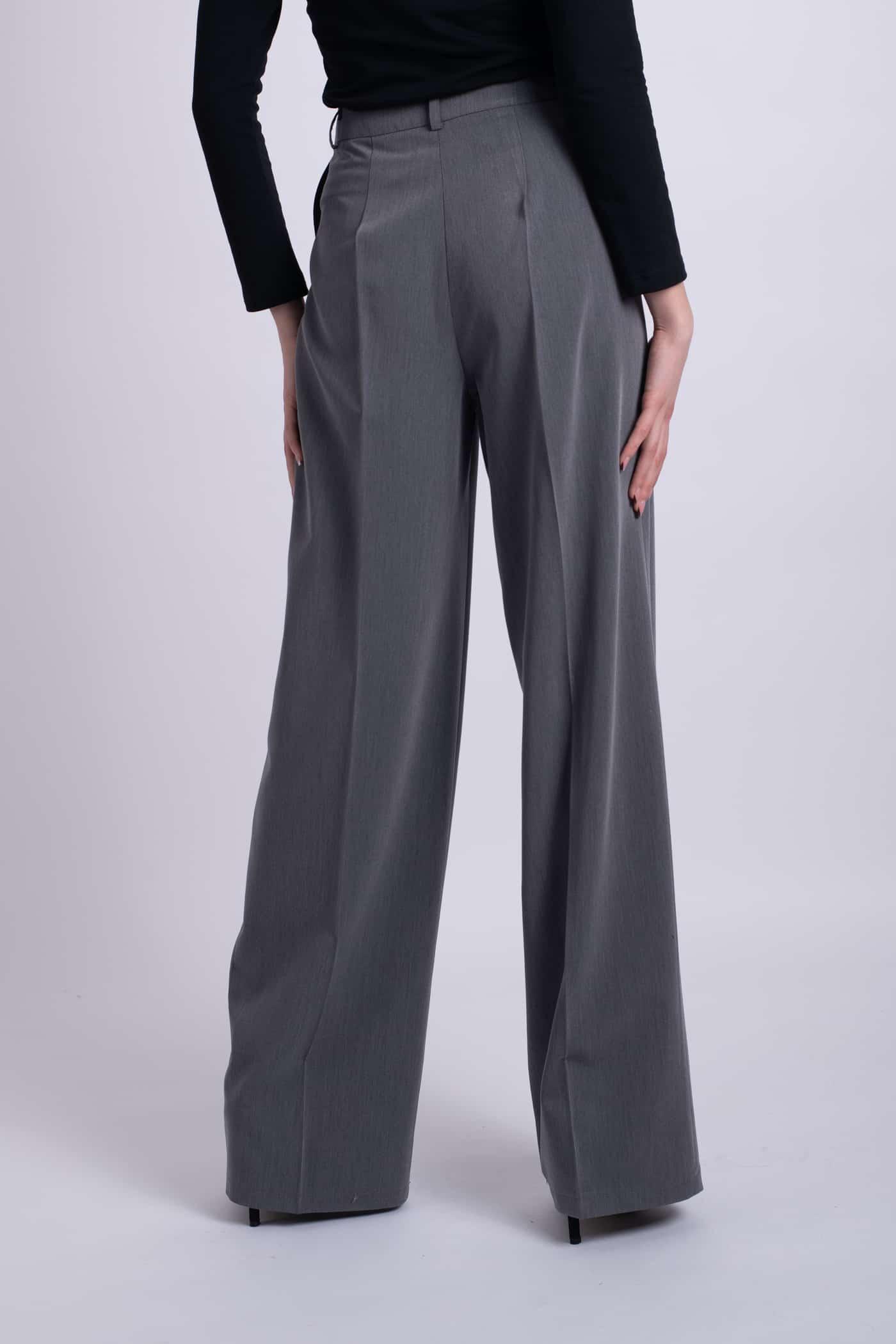 pantaloni gri ladonna
