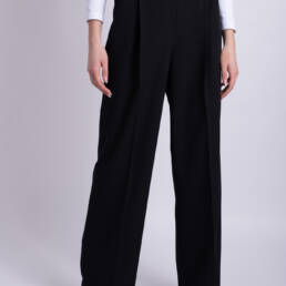 pantaloni ladonna negri