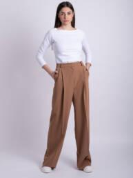 pantaloni maro romance uai