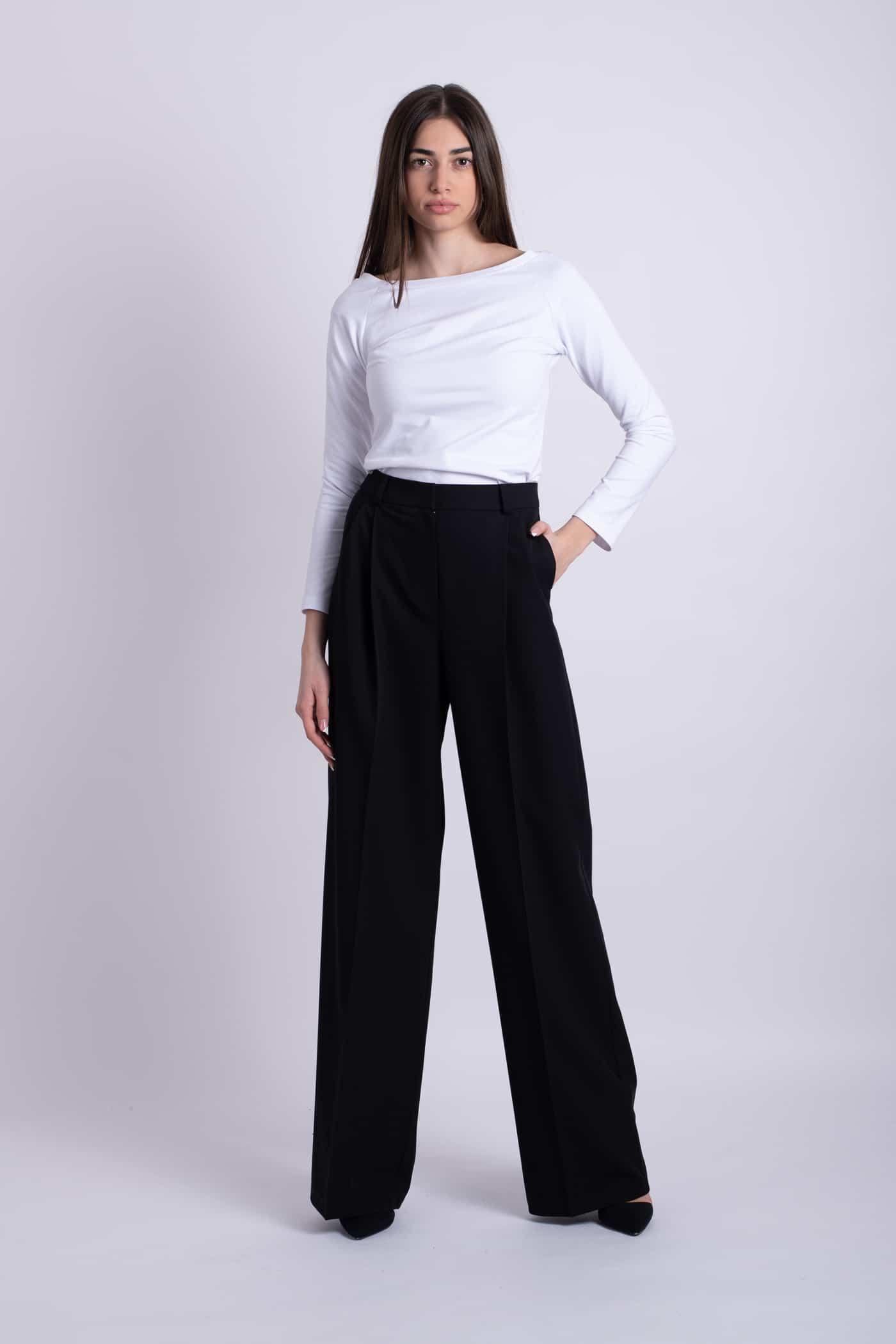 pantaloni negri ladonna