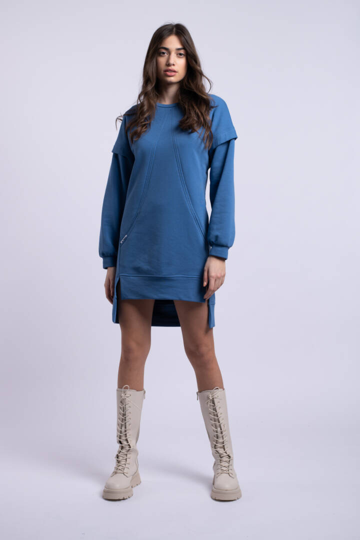 rochie albastra feelthesunset uai