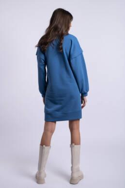rochie albastra ladonna feelthesunset