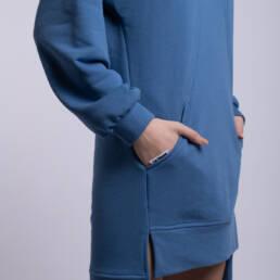 rochie feelthesunset albastra