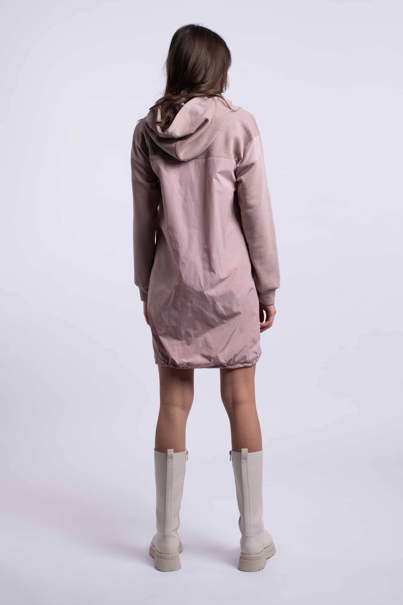 rochie ladonna casual roz