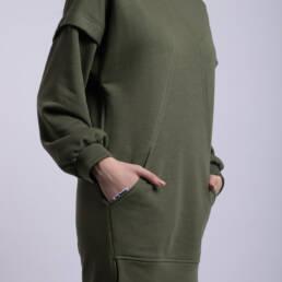 rochie ladonna verde