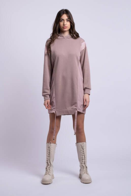 rochie roz scurta ladonna uai
