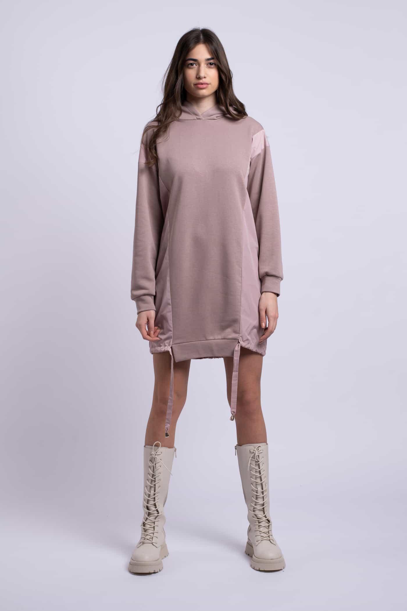 rochie roz scurta ladonna