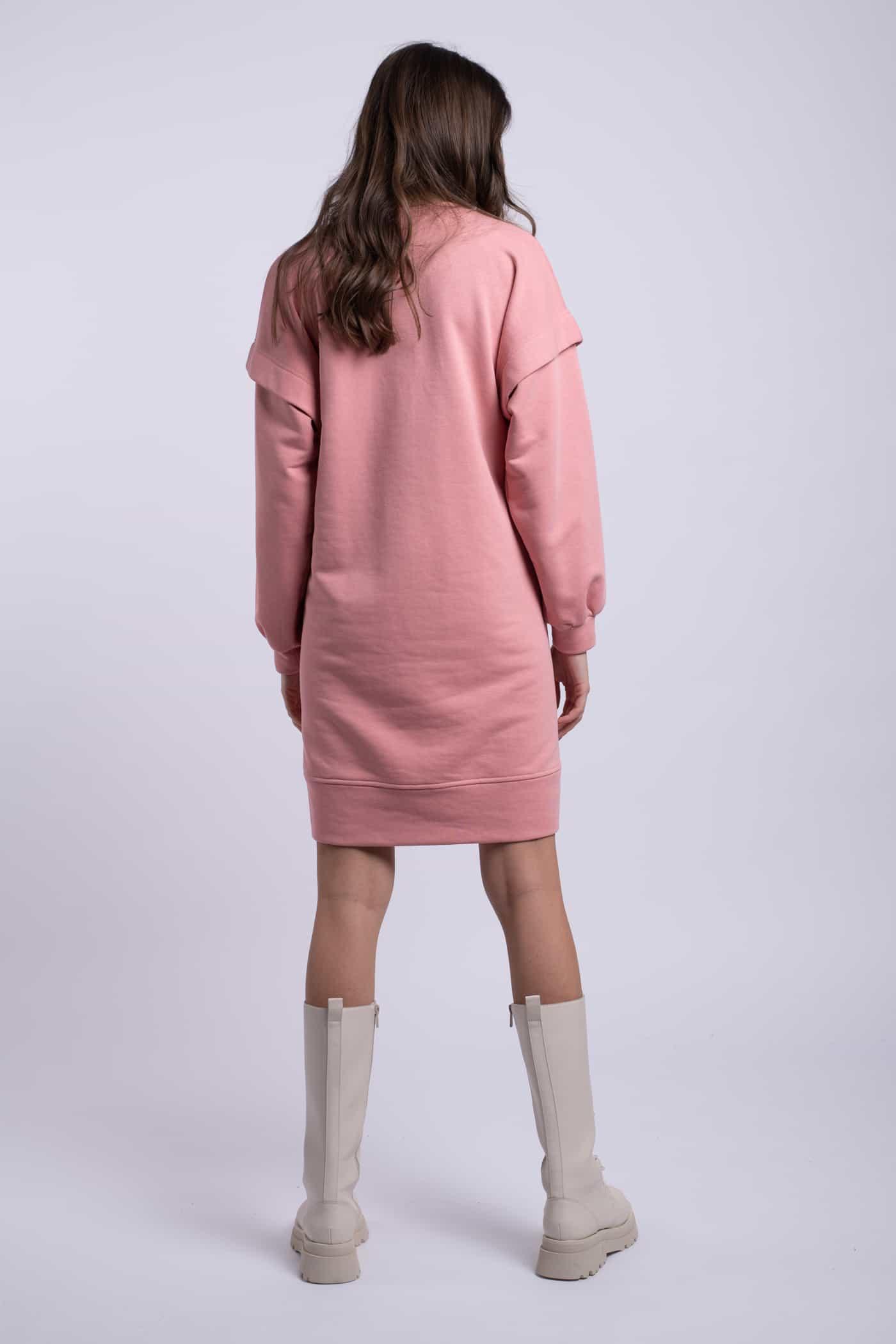 rochie scurta ladonna roz