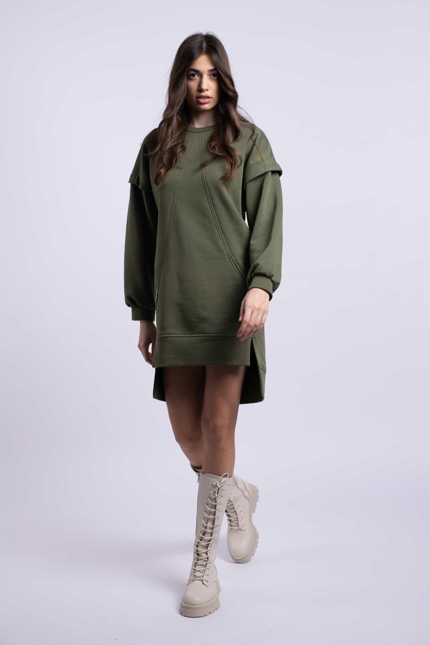 rochie verde ladonna