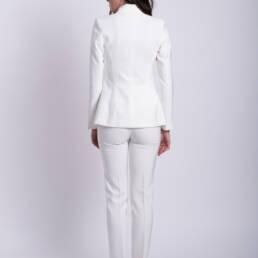 costum alb dama